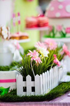 Fiesta de Cumpleaños en el Jardín de Mariposas : Fiestas Infantiles Decora