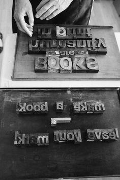 Letterpress workshop #BlurbRoadshow #letterpress #makeabook #BlurbWorkshopSeattle