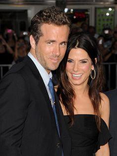 """Er ist nur ein wunderbarer Freund"""", antwortete Sandra Bullock stets, wenn sie auf ihren Schauspielkollegen Ryan Reynolds (34) angesprochen"""