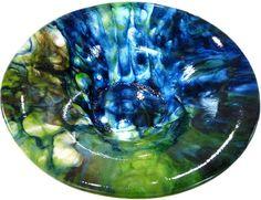 Image detail for -Pot melt, student work. Helios Kiln Glass Studio. Heliosglass.com