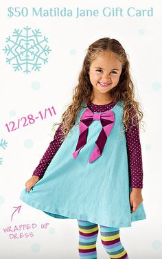 $50 Matilda Jane Clothing Gift Card Giveaway!