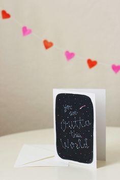 "Tarjeta imprimible "" Eres de otro mundo"" >> lisa rupp: you are outta this world / free valentine card printable"