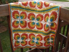 Ravelry: rachelk121's Mod Baby Blanket