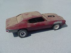 Chevelle Weathered models, beaters, and wrecks.  http://www.modelcarsmag.com/forums/index.php?showtopic=47144&page=2