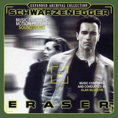 "What I liked most about ""Eraser"" was that it wasn't hard to sit through and that it had that action sound that I really love Alan Silvestri, Brief Encounter, Love Simon, Tv Themes, Ready Player One, James Bond Movies, Picture Movie, Girls Life, Classical Music"