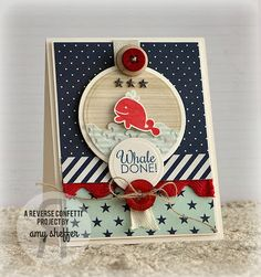 Pickled Paper Designs: Countdown to Confetti: Happy Harbor Sneak Peek I LOVE THIS CARD!