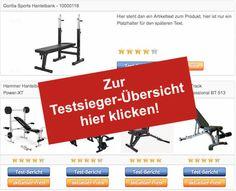 Hantelbank-Trainingsbank-Testsieger-Tabelle-Vergleich Hantelbank mit Gewichten - http://www.hantelbank-kaufen.com