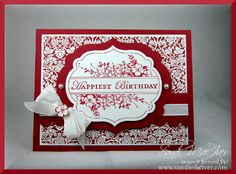 apothecary art stamp set and labels framelits from stampin up card by Sandi, love this set and how she made it!