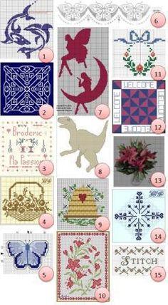 Free cross-stitch charts – Needle Work