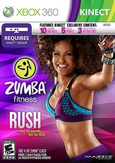 Zumba Fitness Rush  Xbox 360 -- To view further for this item, visit the image link.Note:It is affiliate link to Amazon.