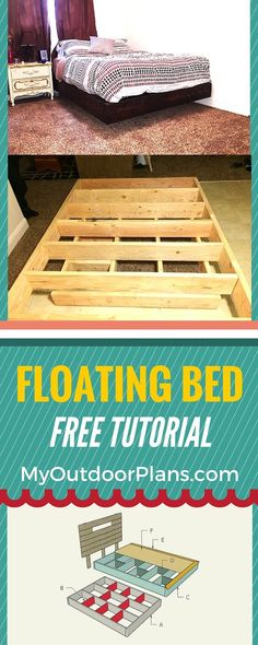 How To Build A Floating Bed   Step By Step Plans For You To Build A