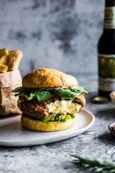 The Ultimate Vegan Portobello Mushroom Burger #burger #veganburger