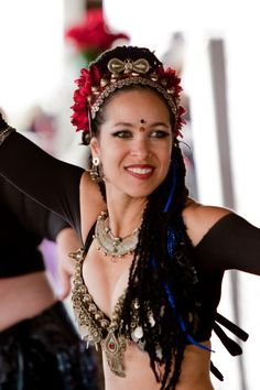 My dance teacher and inspiration, Vikki Gale. Owner and director of the Tribal Bellies Studio in Huntington Valley, PA. Creator of the Tribal Bellies format of ITS dance and performer in Hipnosis, a professional improvisational belly dance troupe.