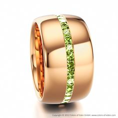 Peridot Eternity Ring