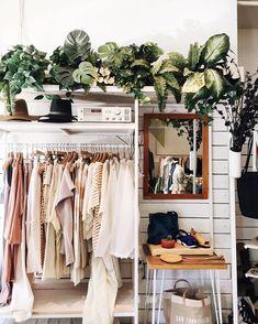 my dream closet has a jungle on top