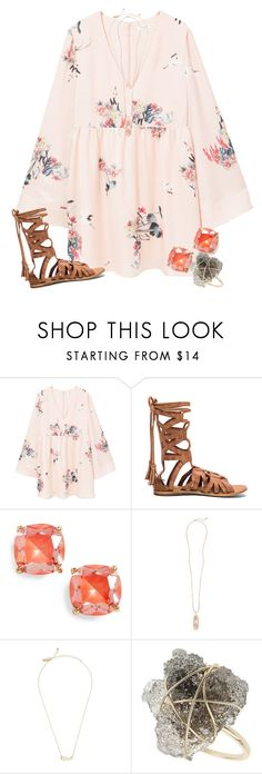 I'm too old for this  by wiinter-blue on Polyvore featuring MANGO, Free People, Kate Spade, Topshop and Kendra Scott