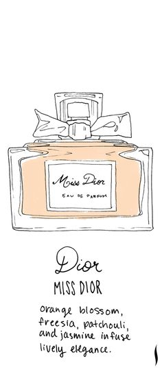 Dior Miss Dior #sephora #fragrance #topnotes