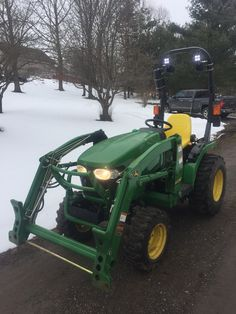 the new hardtop tractor cab enclosure for the john deere 1023e