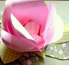 Paper craft - flowers- roses