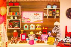 Peppa Pig Birthday Party Ideas | Photo 1 of 146 | Catch My Party