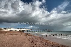 Clouds gather over Teignmouth Pier - Teignmouth Shaldon and Dawlish
