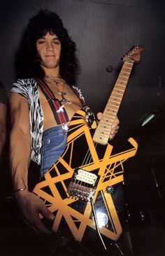 """""""Dimebag"""" Darrell Abbott was tragically shot onstage on Dec 8, 2004 while performing. Months earlier Dimebag had asked Eddie Van Halen for a black and yellow-striped Charvel electric guitar (""""Bumblebee""""), which was pictured on the back cover and inside sleeve of Van Halen II album. Eddie had originally agreed to make Dimebag Darrell a copy of the guitar but never got to it. Upon hearing of his tragic death, Eddie placed his actual original """"Bumblebee"""" guitar inside Dimebag's """"Kiss"""" casket."""