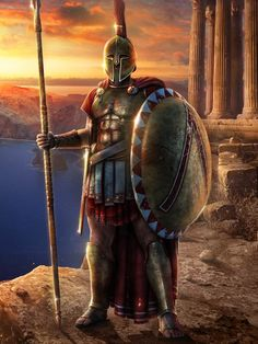 "Spartan Warrior - King Agesilaus, upon being shown the huge defensive walls of a neighboring city exclaimed, """"What Splendid Women's Quarters"""