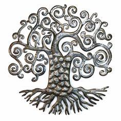 Haitian Metal Art Tree of Life Fantasy | Topanien