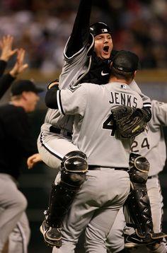 Sox celebrate in '05!