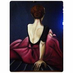 pink..ballerina..softpasstel..rembrandt