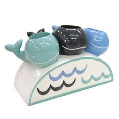 Allure Home Creations Whale Watch Resin Toothbrush Holder: Amazon.com: Home & Kitchen
