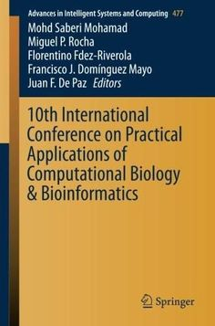 10th International Conference on Practical Applications of Computational Biology & Bioinformatics (A