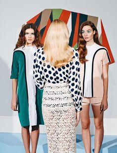 Three Women - Paper Magazine // Adi Goodrich