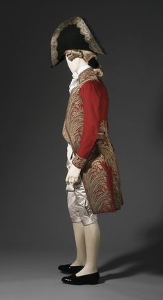 Man's Coat and Vest, Italy, circa 1800
