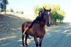 Horse riding !