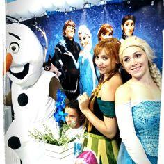 Lindo show da frozen com neve artificial 11947564076 whatsapp