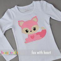 Fox with Heart