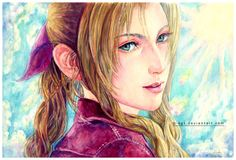 Aerith Gainsborough by *B-AGT - Final Fantasy VII