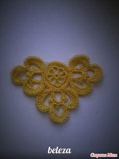 Vanessa Montoro, Form Crochet, Crochet Motif, Knit Crochet, Crochet Patterns, Hobbies And Crafts, Diy And Crafts, Horse Ears, Irish Lace