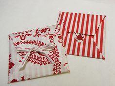 DIY love letter envelopes