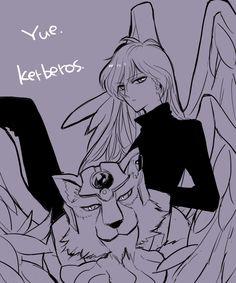 Cardcaptor Sakura | CLAMP | Madhouse / Keroberos (Kero-chan) and Yue/ 「少女漫画詰め。」-「伊田」の漫画 [pixiv] [06]