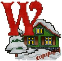 Advanced Embroidery Designs - W is for Winter