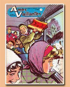 """Couverture """"Ames Vaillantes"""" - jeudi 15 février 1962"""