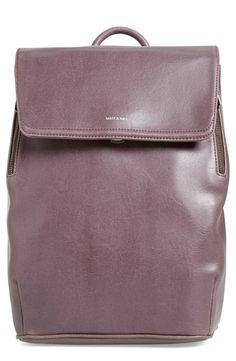93f5a888db36 Matt   Nat  Fabi  Faux Leather Laptop Backpack