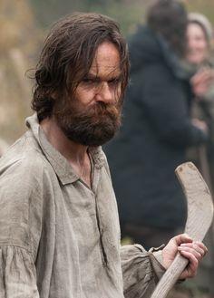 Duncan Lacroix as Murtagh in Outlander on Starz via http://www.farfarawaysite.com/