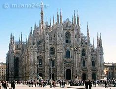 Milan Cathedral. STUNNING architecture! Cant wait to see it in September!