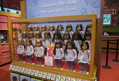 """American Girls Aren't Radical Anymore:  """"With a greater focus on appearance, increasingly mild character development, and innocuous political topics, a former character-building toy has become more like a stylish accessory.""""  I was too old for these, and now it looks like I'll have to find a vintage one for Rosina..."""