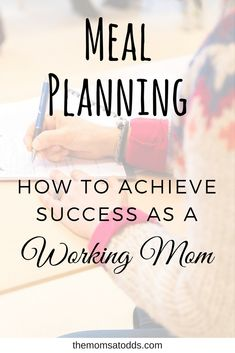 When you work AND parent you're juggling two full-time jobs. You have no room left for sleep, much less looking and grocery shopping. Here I give you detailed yet specific tips to master meal planning as a working mom.