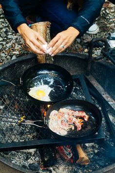 Easy campfire breakfast | In Honor Of Design