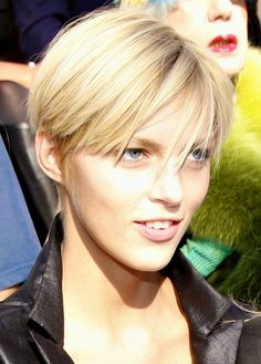 Anja Rubic very-short-hair-